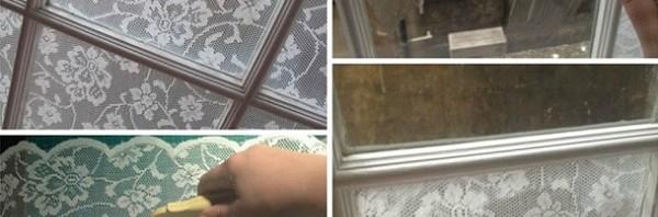 DIY Παράθυρο δαντέλα με άλευρι1