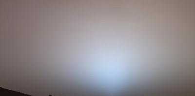 Ηλιοβασίλεμα στον Άρη