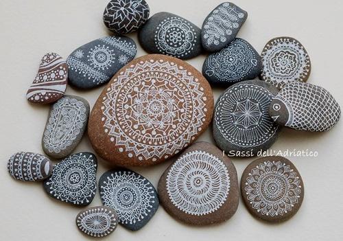 DIY ζωγραφισμένες πέτρες και βότσαλα3