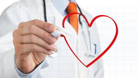 Ζωγραφισμένη καρδιά σε γυαλί