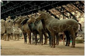 Terracotta άλογα