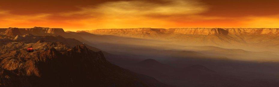Το φαράγγι Valles Marineris στον Άρη