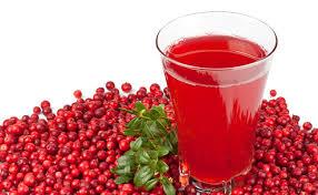 Κράνμπερι χυμός