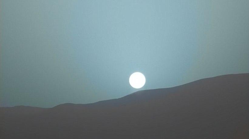 Ηλιοβασίλεμα στον Άρη1